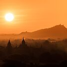 Bagan Sunrise by Johannes Valkama