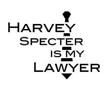 Harvey Specter is my Lawyer by olivergraham