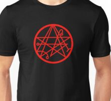Necronomicon (red) Unisex T-Shirt