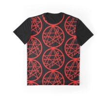 Necronomicon (red) Graphic T-Shirt