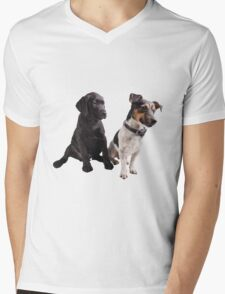 cute little dogs sitting T-Shirt
