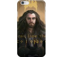 "Thorin Oakenshield Long Live the King ""The Hobbit"" iPhone Case/Skin"