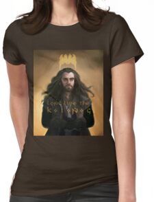 """Thorin Oakenshield Long Live the King """"The Hobbit"""" Womens Fitted T-Shirt"""
