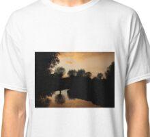 Yellow sunset Classic T-Shirt