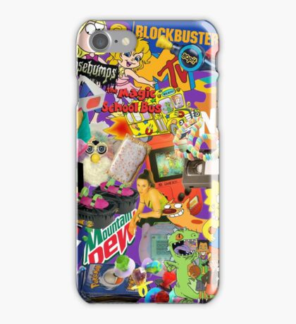 90's Life  iPhone Case/Skin