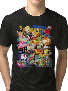 90's Life  Tri-blend T-Shirt
