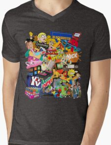 90's Life  Mens V-Neck T-Shirt
