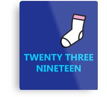 Twenty Three Nineteen Metal Print