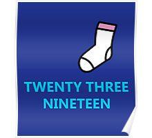 Twenty Three Nineteen Poster