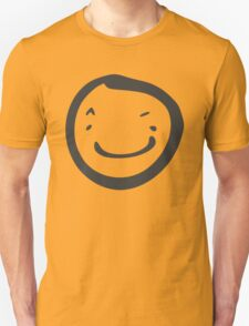 Broad Smile Stamp Smiley T-Shirt