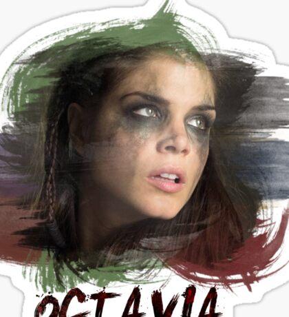 Octavia - The 100 - Brush Sticker