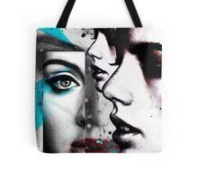 face mash up #4 Tote Bag