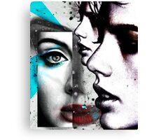 face mash up #4 Canvas Print