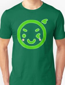 Green Stamp Smiley T-Shirt
