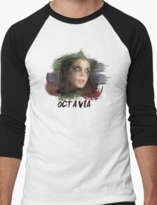 Octavia - The 100 - Brush Men's Baseball ¾ T-Shirt