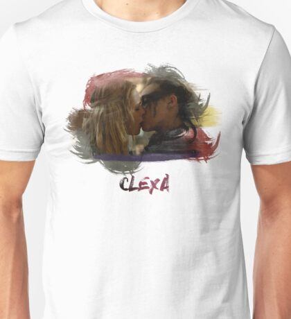 Clexa - The 100 - Brush Kiss Unisex T-Shirt
