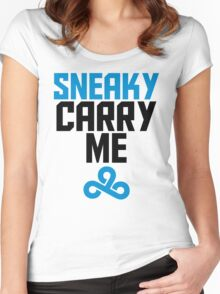 Sneaky Carry me C9 Women's Fitted Scoop T-Shirt