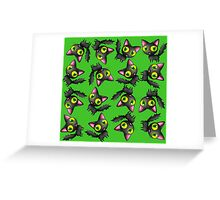 Jelly Cat Tumblers Greeting Card