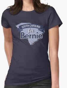 South Carolina for Bernie Sanders Womens Fitted T-Shirt