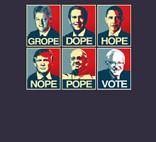Grope Dope Hope Nope Pope Vote Bernie T-Shirt