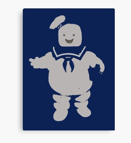 Mr. Stay Puft Marshmallow Man Canvas Print