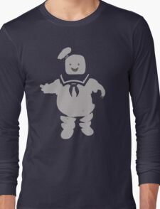 Mr. Stay Puft Marshmallow Man Long Sleeve T-Shirt