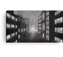 Lonely Cityscape Canvas Print