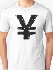 Yen Symbol Unisex T-Shirt