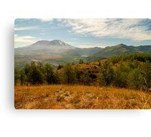 Mt St Helens Canvas Print