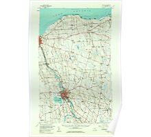 New York NY Fulton 138086 1956 62500 Poster