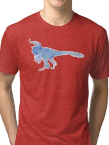 Singing Dinosaur Tri-blend T-Shirt