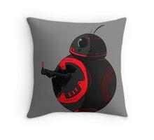 Raise your dark torch ! Throw Pillow