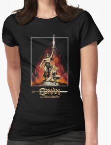 Conan The Barbarian Womens Fitted T-Shirt