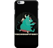 Techsupport iPhone Case/Skin