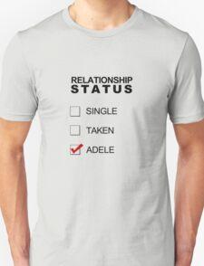 Relationship Status - Adele Unisex T-Shirt