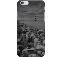 Black point Lighthouse iPhone Case/Skin