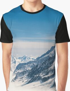 Snowy panorama Graphic T-Shirt