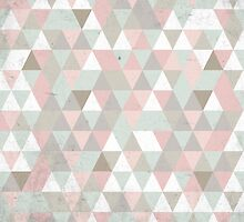 Shabby Chic triangles by xiari