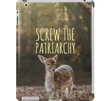 Does Against the Patriarchy iPad Case/Skin
