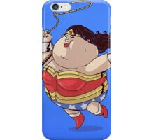 Wonder Women Got Fat iPhone Case/Skin