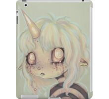 I Cry Sparkles - unicorn girl iPad Case/Skin