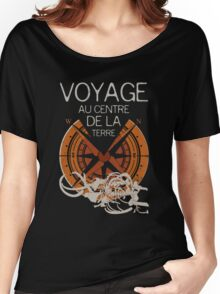 Books Collection: Jules Verne Women's Relaxed Fit T-Shirt