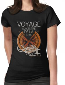 Books Collection: Jules Verne Womens Fitted T-Shirt