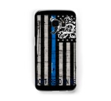 Blue Line LEO Dont Tread On me Samsung Galaxy Case/Skin