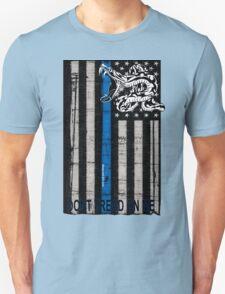 Blue Line LEO Dont Tread On me Unisex T-Shirt