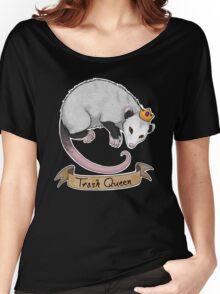 Trash Queen Opossum Possum Women's Relaxed Fit T-Shirt