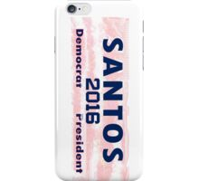 Santos For President iPhone Case/Skin
