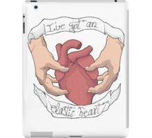 Elastic heart  iPad Case/Skin