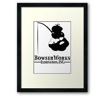 Bowser Works Framed Print