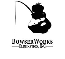 Bowser Works Photographic Print